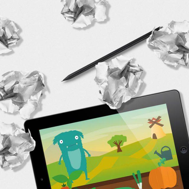 Graphisme - Application tablette pour les enfants
