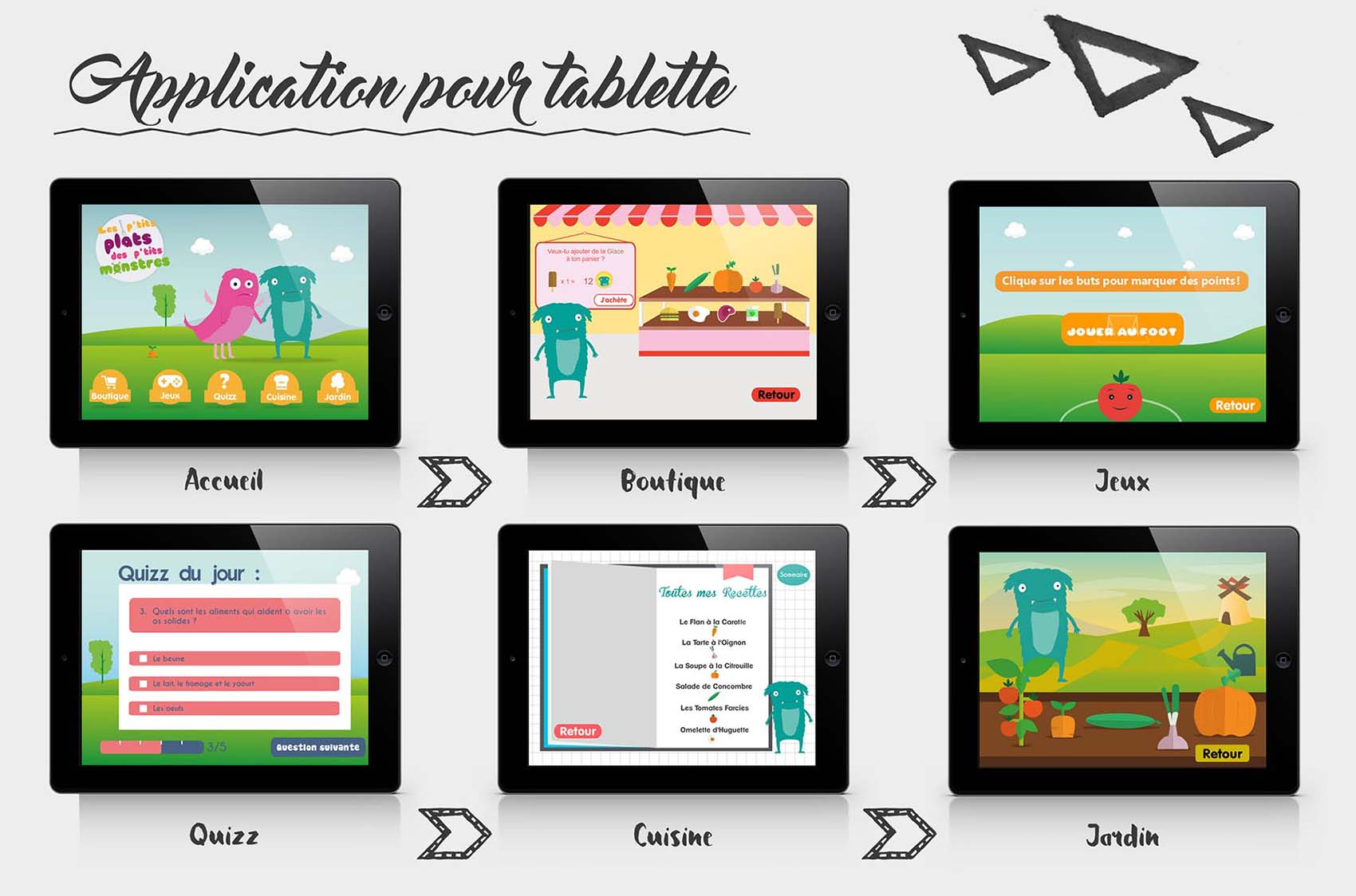 Graphisme - Application tablette