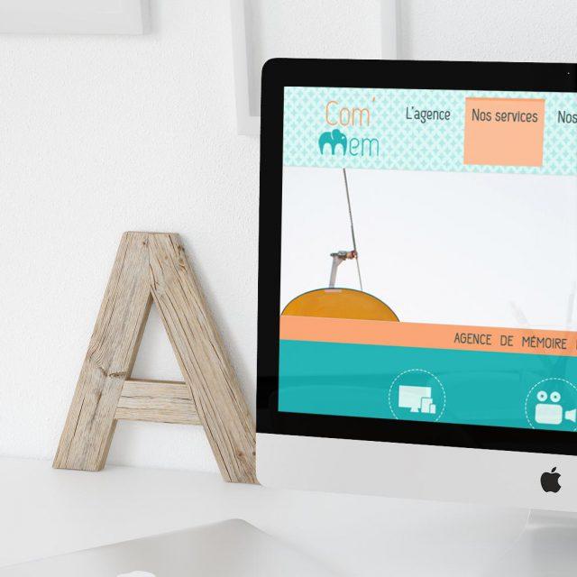 Webdesign Site internet - Agence événementiel