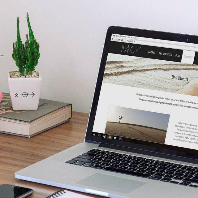 Site internet - Agence communication - Webdesign