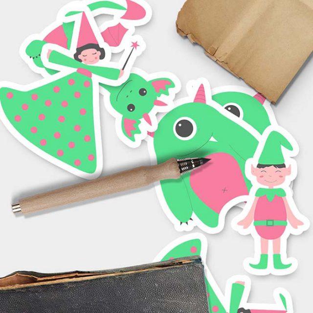 Illustrations - Graphisme - Regard de Bébé Plume - Maman enfant