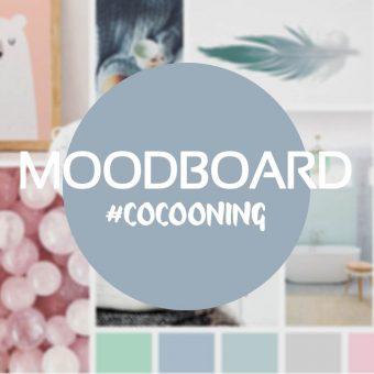 Montage photo décoratif | Moodboard cocooning | Graphiste jeunesse Freelance