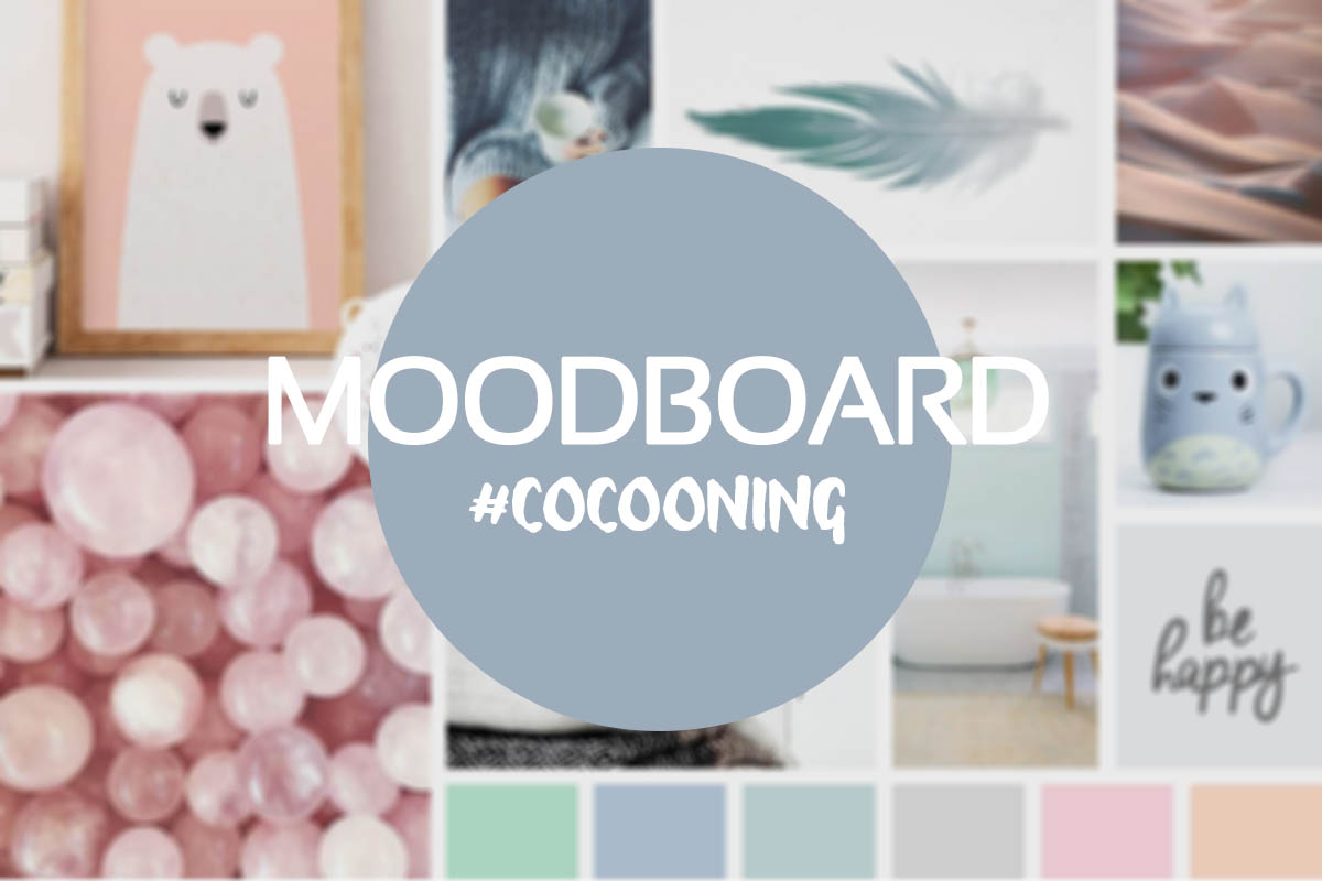Montage photo décoratif | Moodboard cocooning | Graphiste jeunesse Freelance