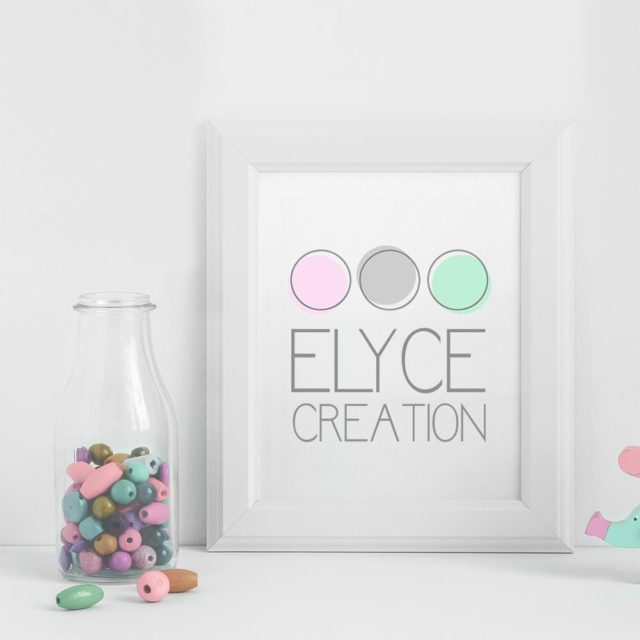 Logo - Bébé - Bijoux - Maman - Elyce Creation