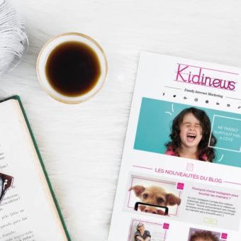Logo - Design - Newsletter - Enfance - Kidiwiz