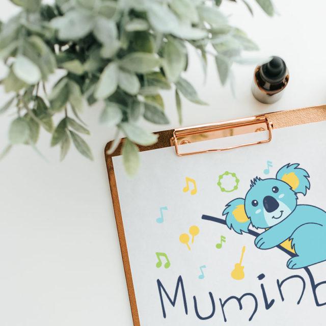 Graphisme - Logo - Muminbu - Bébé - Enfant
