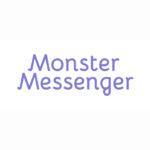 Logo client - Graphiste Webdesigner Freelance - Jeunesse - Enfance - Monster Messenger