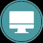 Icône - Page Accueil - Site web et Webdesign | Graphiste Webdesigner Freelance spécialisé Jeunesse