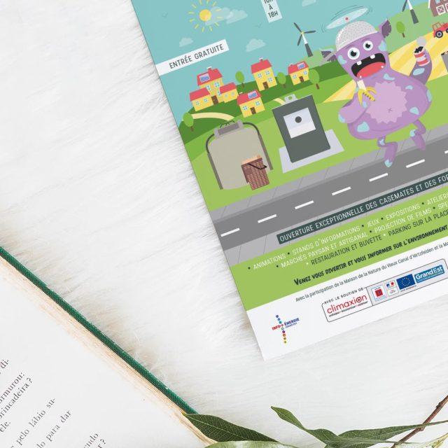 Print - Affiche - Programme - Illustration - Festival Tri, Energie &co